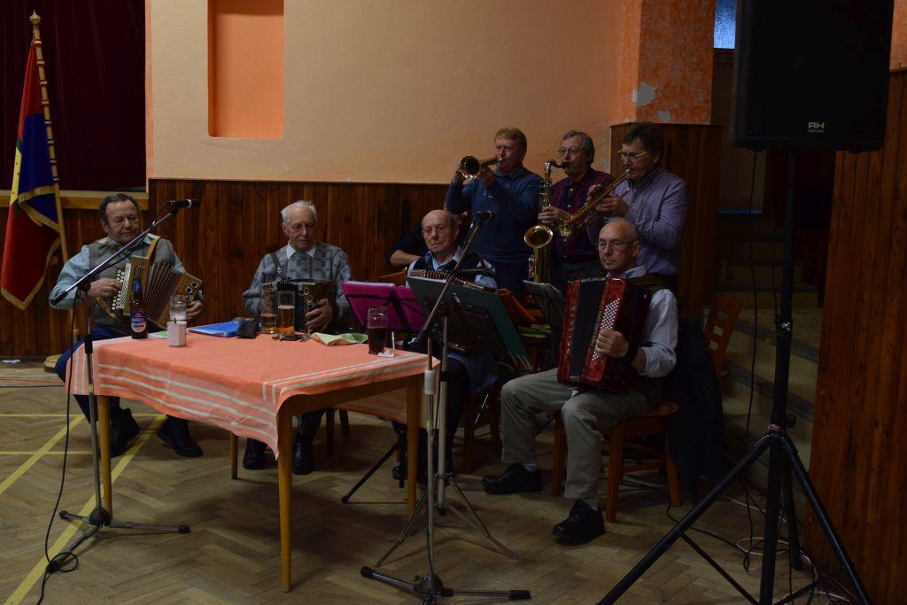 Setkání starosty obce s důchodci