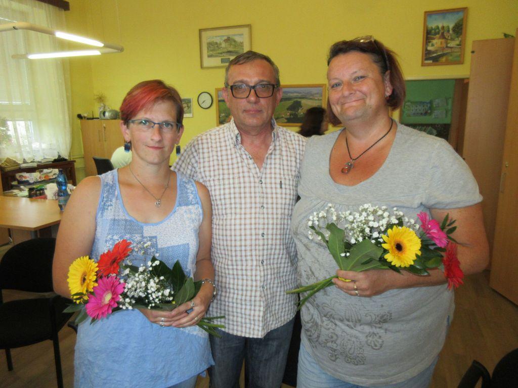 Ženy regionu Lenka Ticháčková a Hanka Hrušková
