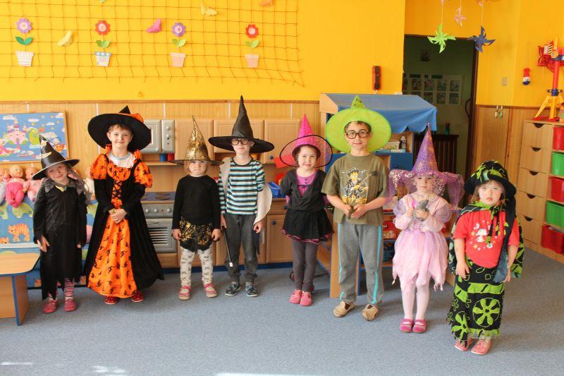 Slet čarodejnic v mateřské škole
