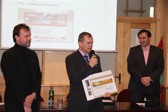 Vyhlášení výsledků Zlatý erb 2012